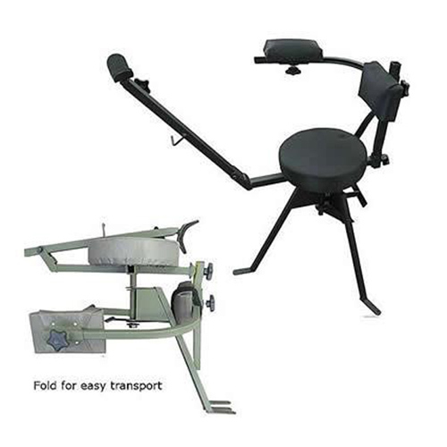 Rifle Shooting Chair Swivel Folding Chair