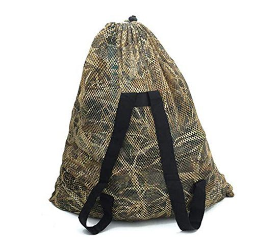 30×38 Inch Camouflage Mesh Decoy Bag