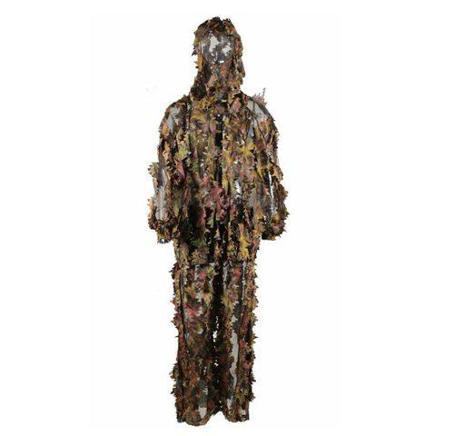 3D Leafy camo suit mesh lining Ghillie Suit