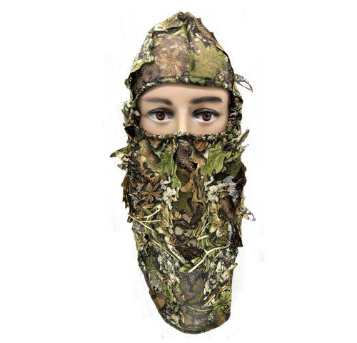 Leafy Full 3D Face Mask Hood 074018
