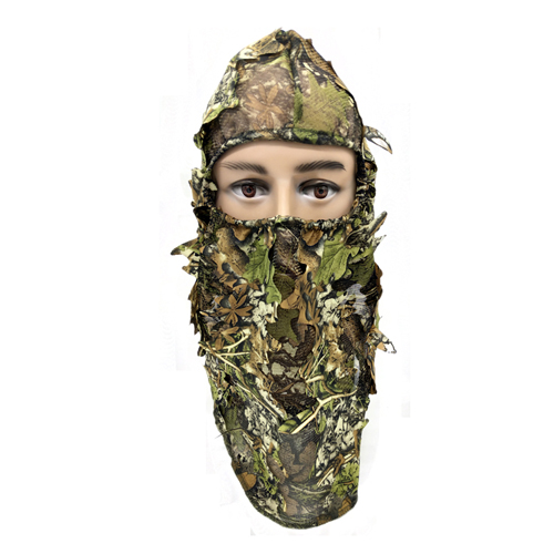 Leafy Full 3D Face Mask Hood 074018