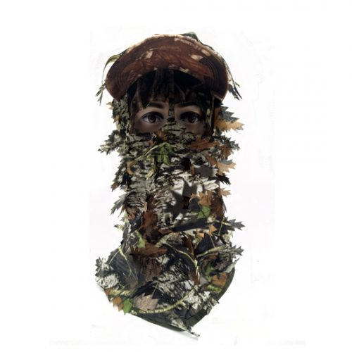 3D Camouflage Full Cover Leafy Hat