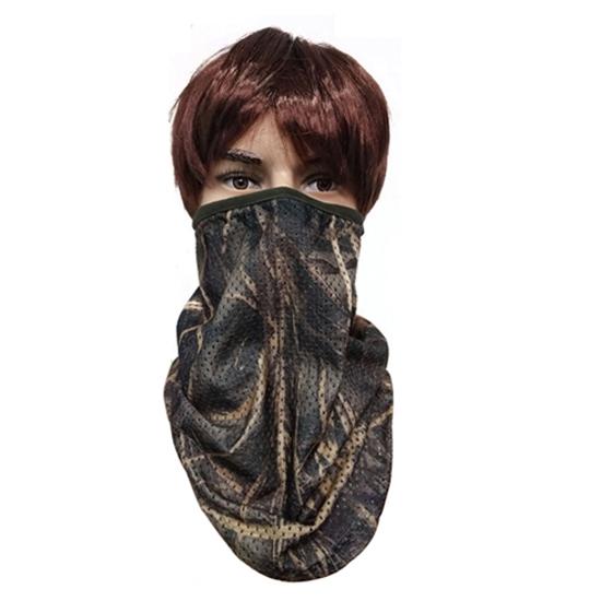 Camo mesh half mask 074022