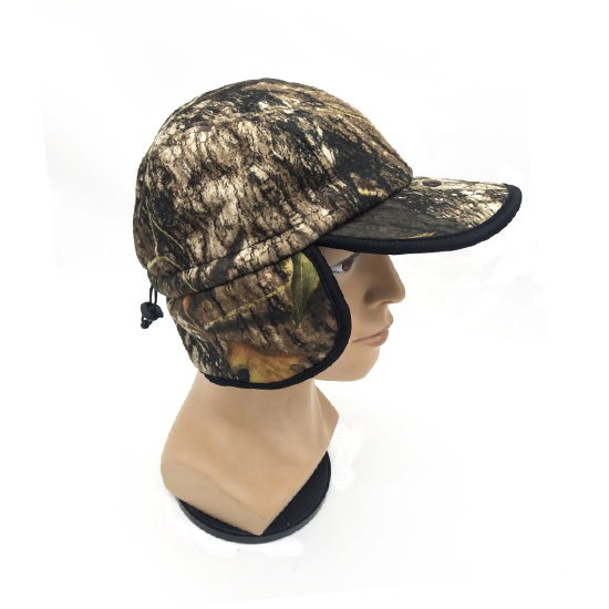 camouflage cap with ear flaps 0745008