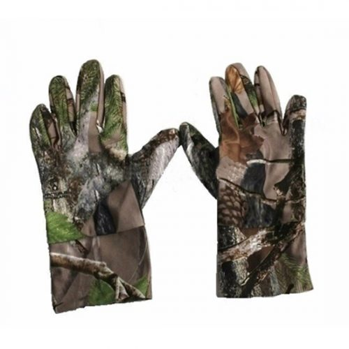 lightweight Military camo gloves 073010