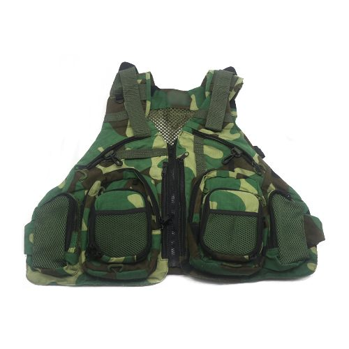 Multifunction Mesh Fly Fishing Vest RC1805