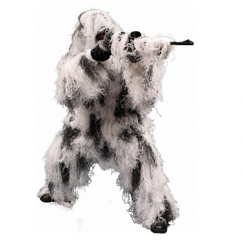 snow white ghillie suit